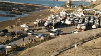 camioneros levanto la toma de la planta de combustibles de ypf