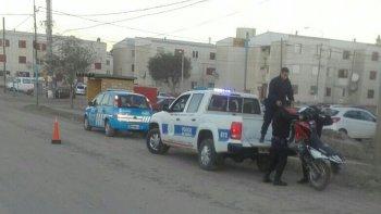 atropellaron a un policia en medio de una persecucion