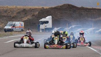 El kárting de la Asociación Patagonia Sur correrá esta tarde la segunda fecha de su calendario.