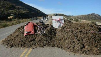 Desde fines de marzo el camino Perón se encuentra inhabilitado.