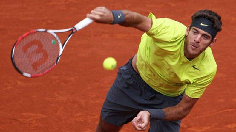 Juan Martín del Potro es la máxima esperanza argentina en Roland Garros.