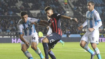 racing mas cerca de la copa tras derrotar a san lorenzo