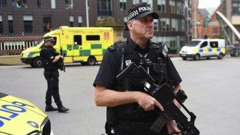 Manchester, como la mayoría de las ciudades del Reino Unido, continúan fuertemente custodiadas.