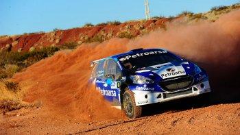 El Peugeot 208 – MR de Gerónimo Padilla, el ganador del Rally de los Dinosaurios.