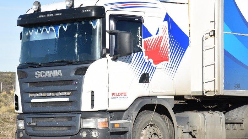 El camionero dijo que sus asaltantes escaparon en dirección a Comodoro