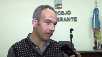 Luis Ferrero, integrante del Ente de Control de los Servicios Públicos.