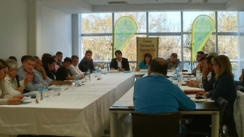 Un curso de seguridad vial que se realizó en la sede del Sindicato de Petroleros Jerárquicos.