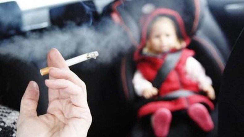 Llaman la atención sobre los niños como fumadores pasivos.
