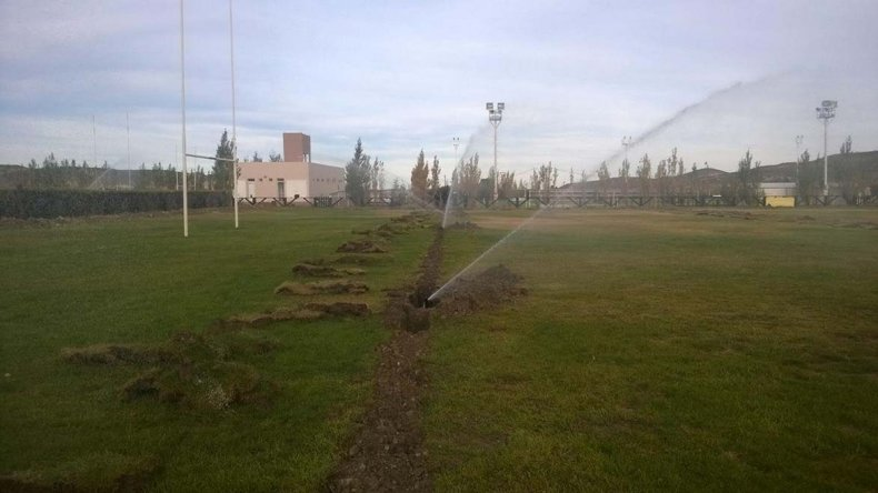 Los rugbiers podrán disfrutar de un mejor campo de juego en Comodoro RC.