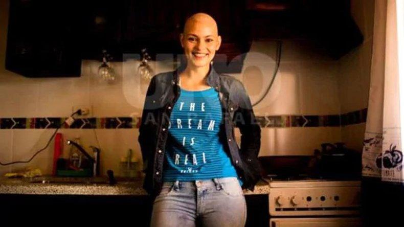 La conmovedora lucha contra el cáncer de una ex reina de la Vendimia