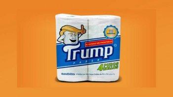 Un mexicano lanzará a la venta el papel higiénico Trump