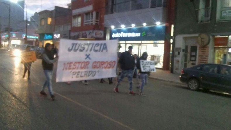 Familiares de Néstor Goroso marcharon pidiendo justicia