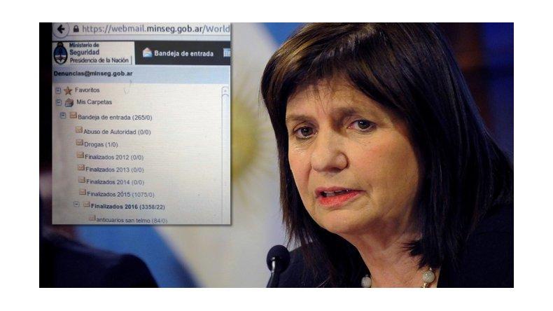La Gorra Leaks: filtran información sensible del Ministerio de Seguridad