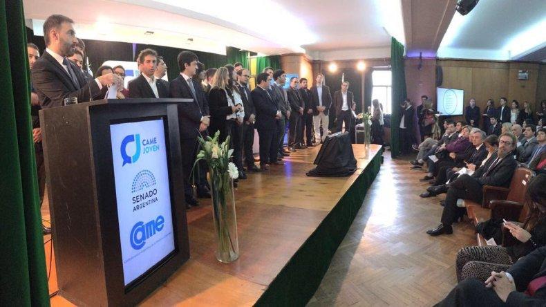 Jóvenes empresarios de la región presentes en los Premios CAME joven