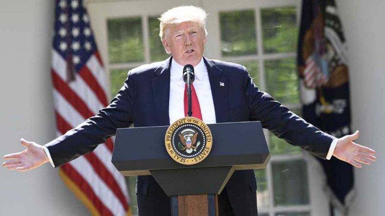 Polémica decisión adoptada por Trump sobre el cuidado del medio ambiente.