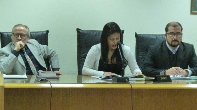 El tribunal integrado por los jueces Gladys Olavarría