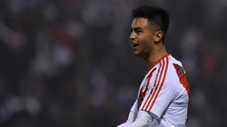Gonzalo Martínez viene de marcarle un gol a Atlético Tucumán.
