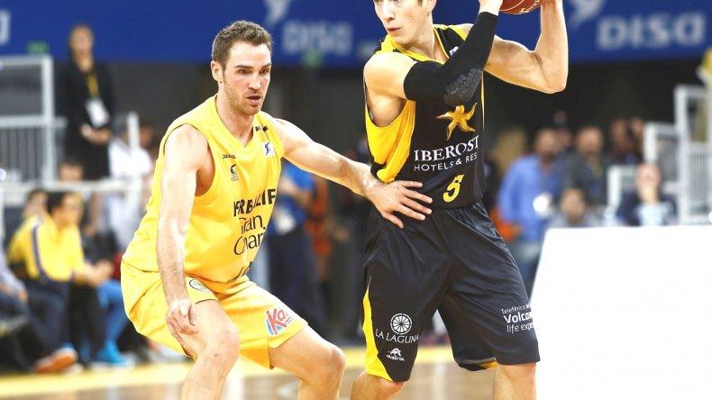 Nico Richotti presente en el TOP 7 de la temporada del Canarias