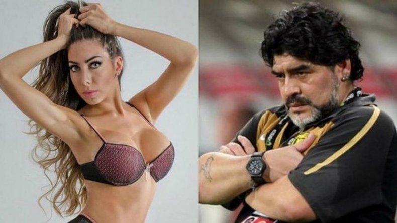 Hay más audios hot de Maradona