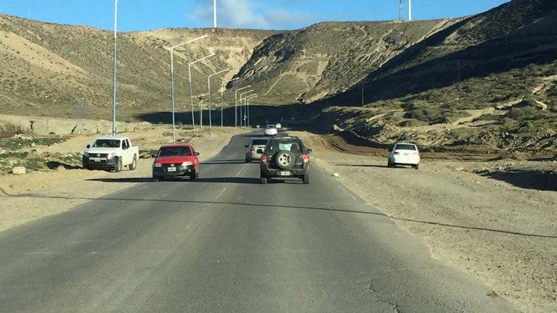 En la mañana de ayer se volvió a habilitar el tránsito sobre el Camino del Centerario luego que la circulación permaneciera interrumpida durante dos días.
