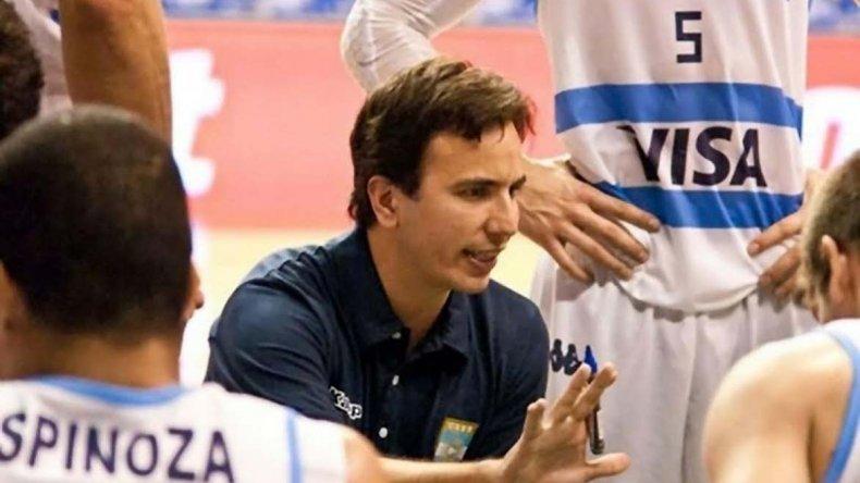 Nicolás Casalánguida vendrá próximamente a Comodoro Rivadavia para brindar un campus de básquet