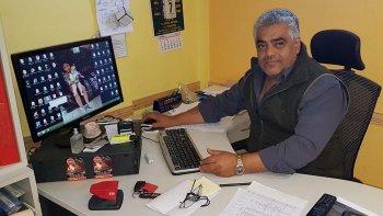 José Uribe, secretario gremial del Sindicato de Petroleros Jerárquicos de la Patagonia Austral.