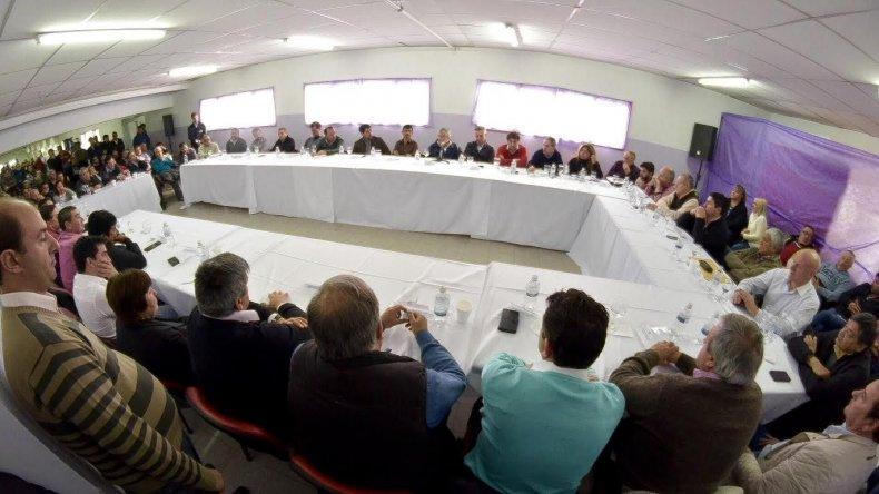 Los intendentes de la cordillera rescataron  el diálogo directo con el Gobierno provincial