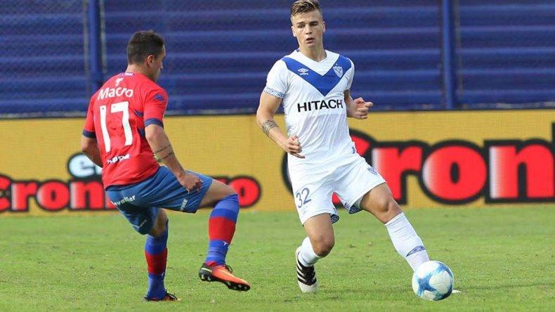 Mauricio Toni debutó el último sábado en el triunfo que Vélez logró en Victoria ante Tigre.