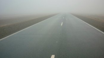 piden circular con precaucion por rutas humedas