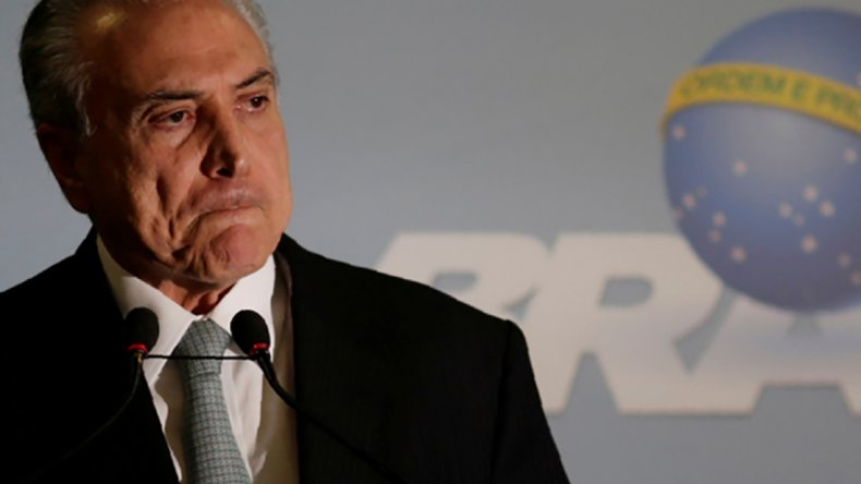 El juicio contra Dilma puede terminar sacando del cargo a Temer.