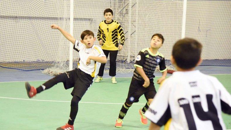 Los más chicos disfrutaron de una nueva fecha del torneo Apertura que organiza la Asociación Promocional.