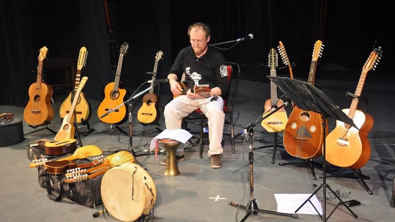 El músico argentino