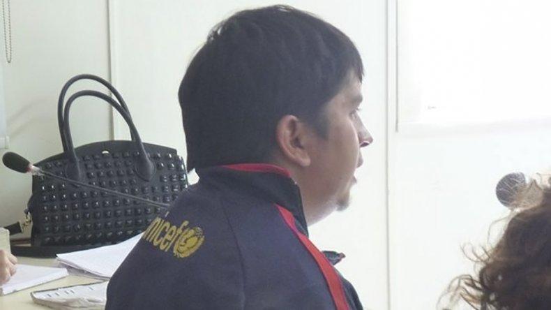 Familiares de Jonathan Vera reclaman que el imputado Matías Nieves -foto- llegue detenido al juicio.