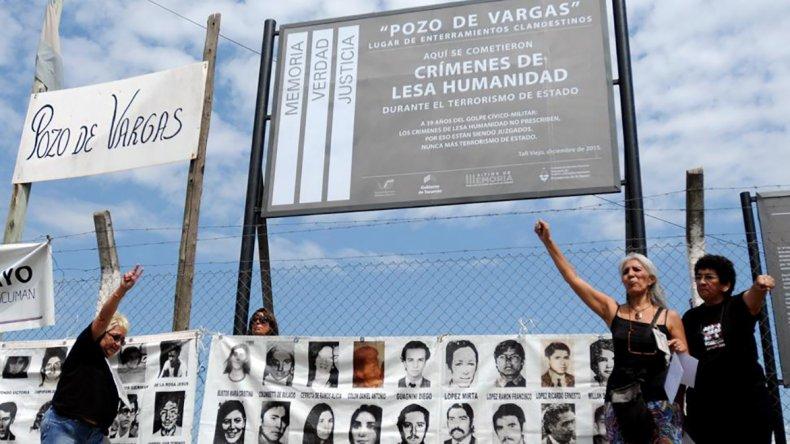 Avanza el trabajo para determinar la identidad de los desaparecidos enterrados en el Pozo de Vargas.