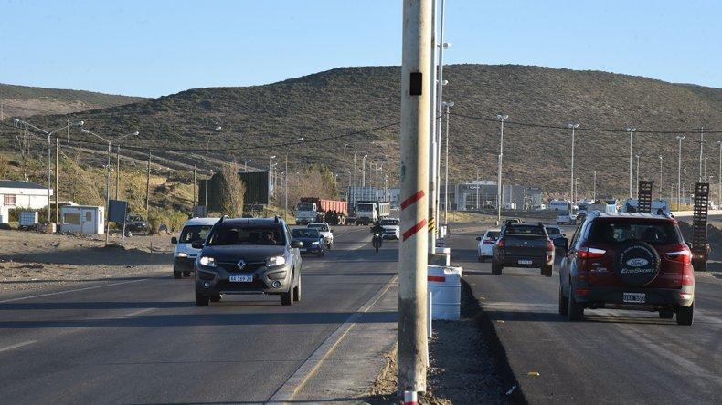 Los automovilistas ayer pudieron volver a utilizar los carriles de ambos sentidos de la Ruta 3