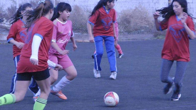 El fútbol femenino será uno de los deportes que se jugarán por la instancia local de los Juegos Evita.