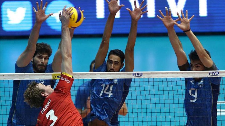Argentina sufrió una nueva derrota en la Liga Mundial de Vóleibol.