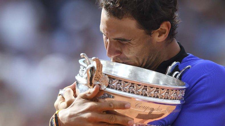 Rafael Nadal sigue haciendo historia en el tenis mundial.