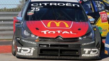 Esteban Guerrieri, con Citroën, se quedó con el triunfo ayer en el autódromo de Termas de Río Hondo.