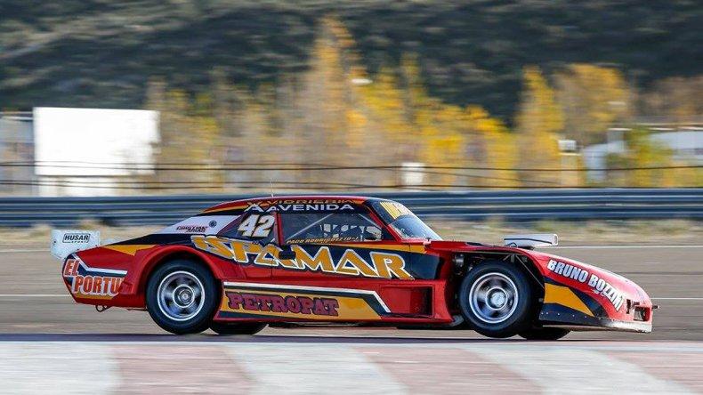 El piloto Paco Rodríguez ganó ayer por primera vez en el TC Patagónico.