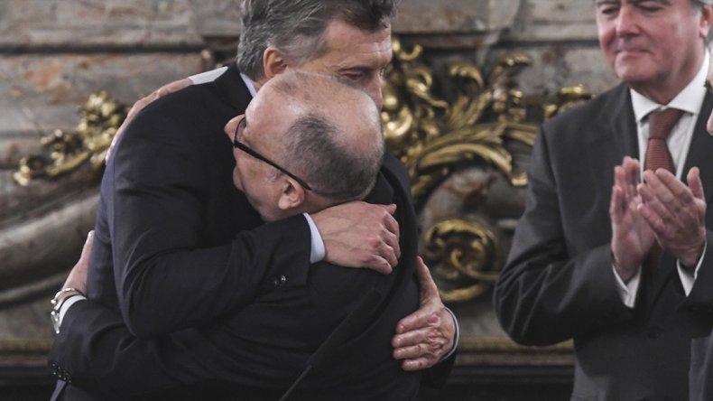 Macri tomó juramento al flamante canciller
