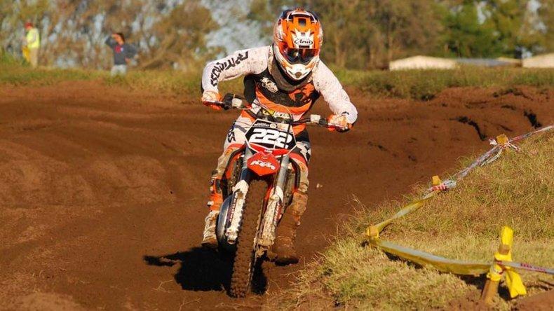Tomás Brazao cerró la primera parte del año con una victoria y con la punta del campeonato en el MX del Norte.