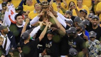 golden state se consagro campeon de la nba