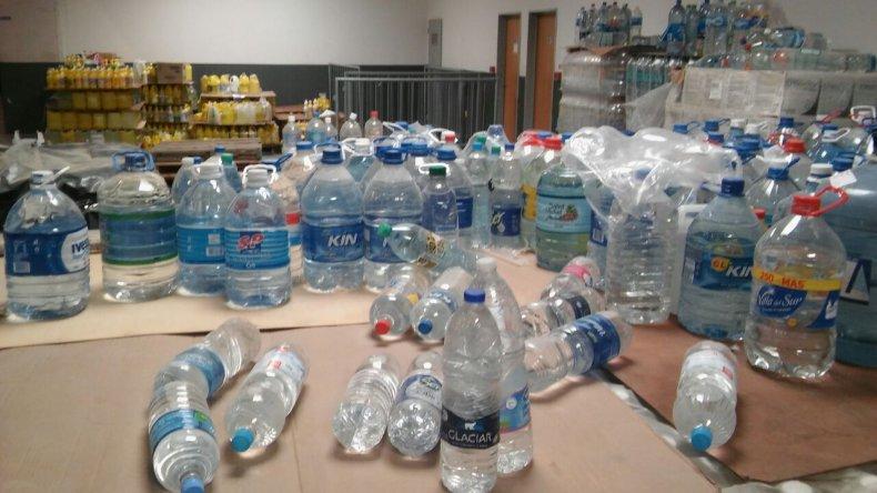 Las donaciones del Predio Ferial irán a distintos puntos de la provincia