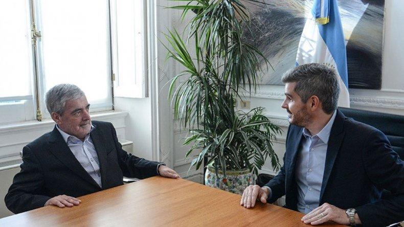 Das Neves se reúne con Marcos Peña y con el presidente de YPF