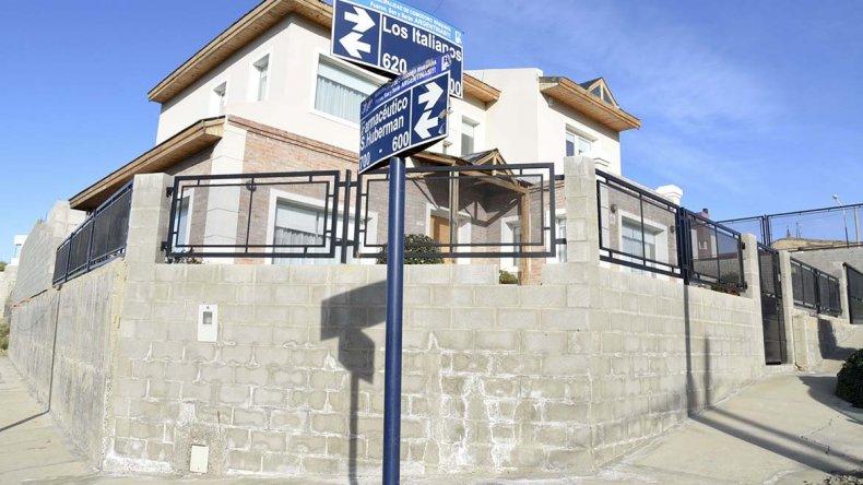 La zona residencial en la que ahora la delincuencia volvió a golpear. Uno de los asaltantes llevaba