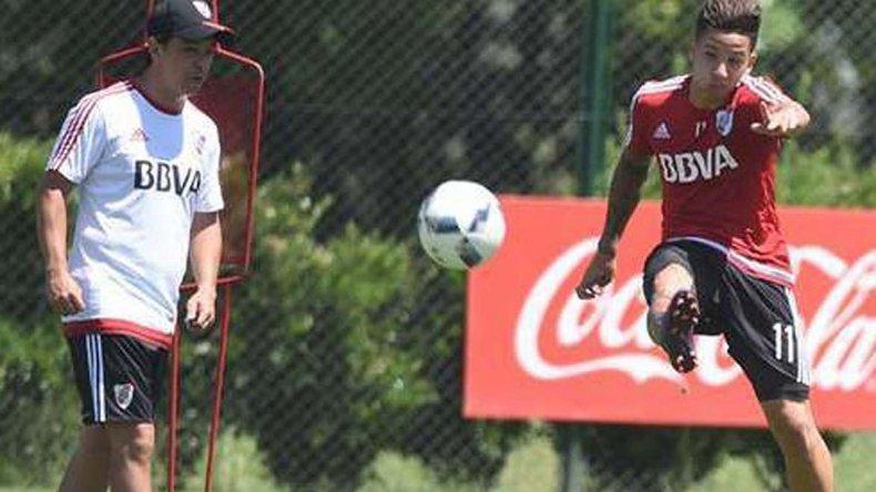 Sebastián Driussi se lesionó el 4 de junio y ya casi está para volver.