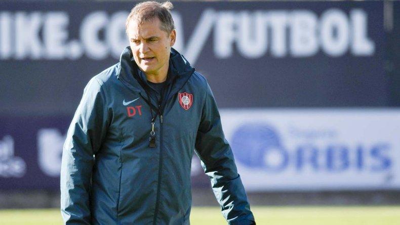 Diego Aguirre renovó con San Lorenzo y quiere ir por todo.