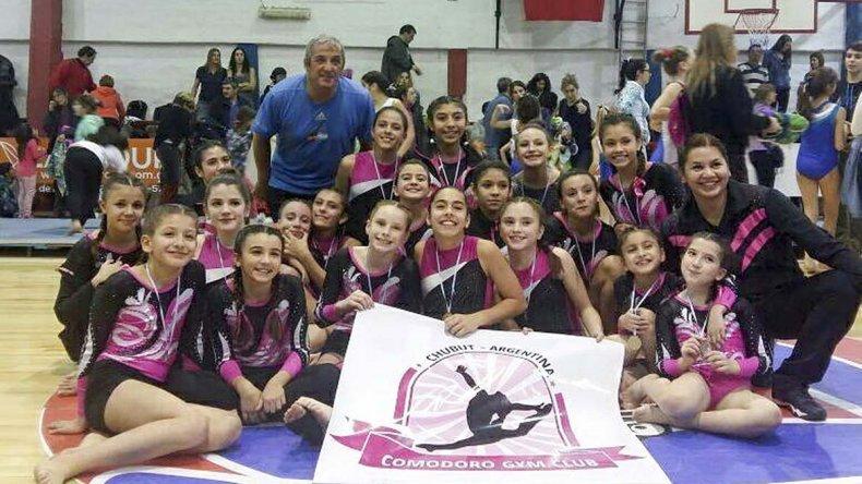 Comodoro Gym Club cosechó buenos resultados en el 1° Torneo Selectivo de Gimnasia Artística que se realizó en Puerto Madryn.