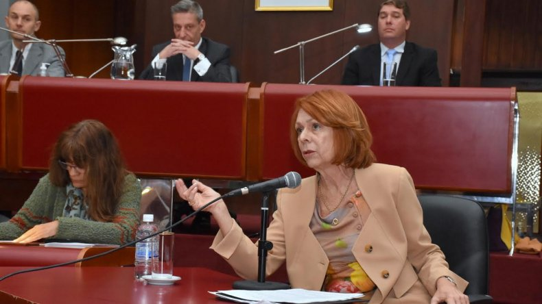 García Blanco se presentó e instó a la Justicia a incorporar más mujeres